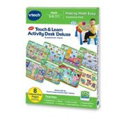 Vtech Touch And Learn Activity Desk Deluxe Expansion Pack- Making Math Easy