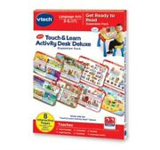 Vtech Touch And Learn Activity Desk Deluxe Expansion Pack- Get Ready To Read