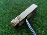 2009 Ping 50th Anniversary 1-a Commemorative Gold Putter W/case 862/1000