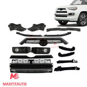 Fit 2014-2020 Toyota 4runner Limted Front Body Kits Grille Bracket Combo Set