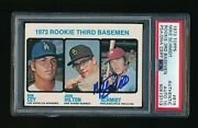 1973 Topps 615 Mike Schmidt Signed Card Rc Authentic Psa 10 Auto Rookie 713