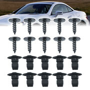 20pcs Tx25 Screws Expansion Nut Wheel Arch Liner Wheel Arch Clips For Seat A+