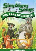 Disney's Sing Along Songs - The Jungle Book The Bare Necessities Dvd