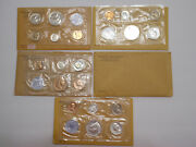 5 Proof Sets - 1960 Small Date 1961 1962 1963 1964 Us Mint Coin Sets 90 Silver