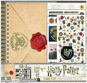 Harry Potter 12 Month Mini Planner Set Undated Stickers Magnetic Clip Bookmark