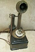 Western Electric Brass Candlestick E/w Large Subset.