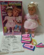 Michelle 15 Talking Doll In Pink As Featured On Full House 1990 Mib W Accessori