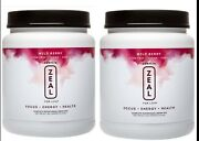 Zurvita-zeal For Life Wild Berry Canister-420gexp08/2022 2-canister