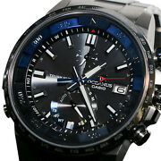 Casio Oceanus Cachalot Ocw-p1000b-1ajf Radio Waves Solor Menand039s Watch New In Box
