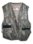 Vintage Winchester Conceal Trebark Camo Hunting Chamois Jacket Coat Menand039s Large