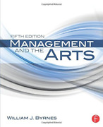 Byrnes William James-management And The Arts Uk Import Book New