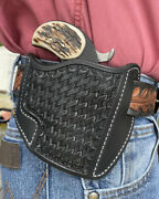 Leather Holster Bond Arms 3 1/2 Snake Slayer W/trigger Guard Ruffand039s Black