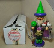 1994 Steinbach Smoker 12 Signed By Creator Wizard Of Oz W/box And Tag