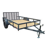 Utility Trailer 6.4and039 X 10and039 Reinforced Dove Tail Gate