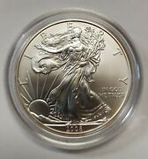 2008 Reverse 2007 Burnished Silver Eagle A Perfect And Flawless Mark Free Coin