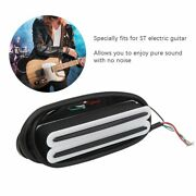 Magnetic Pickup Twin‑coil Dual Rail Track Neck Kit For Electric Guitar