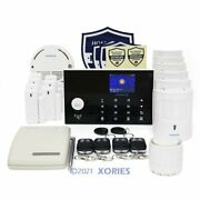 Homsecur Wireless Wifi Home Security Alarm System+wireless Solar Red Flash Siren