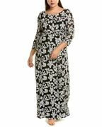Js Collections Plus Embroidered Gown Women's