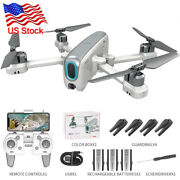 Fpv Quadcopter Hd Camera Aircraft Foldable Rc Drone Selfie Toy Flip+3 Battery