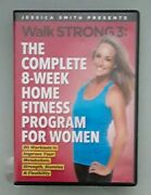 Jessica Smith Walk Strong 3 Complete 8 Week Home Fitness Program For Women Dvd