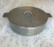 Rare Wilton Columbia Pa Pewter Tortilla Warmer Keeper Covered Serving Dish 9.75