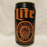 Miller Lite Halloween Party Beer Can Rare 1990 Promotion Empty Collectable