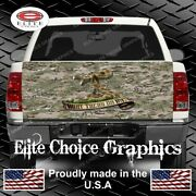 Dont Tread On Me Camo Truck Tailgate Wrap Vinyl Graphic Decal Wrap