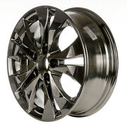 Oem Recon 17x6.5 Alloy Wheel Light Pvd Chrome Full Face Painted 560-64040