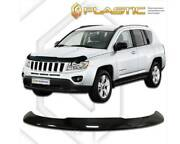 Front Bug Shield For 2013-2021 Jeep Compass Protect Hood Deflector Bug Guard Oem