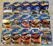 Hot Wheels Die Cast Cars Vehicles - Lot Of 15 All New In Package
