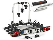 Uebler Rack Carrier Tow Trailer Hitch F32 Xl 15850 3 Cycle Bike + Access Ramp