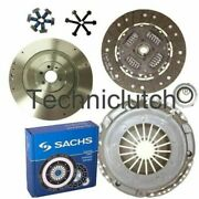 Flywheel And Sachs Clutch Kit For Cayc 8p1 Vw Golf Plus 1.6 Tdi Fwd V 521,5m1