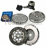 2 Part Clutch Kit And Sachs Dmf With Csc For Citroen Ds3 Hatchback 1.6 Thp 155