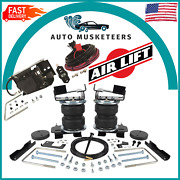 Air Lift Wireless One Ez And Loadlifter 5000 Ultimate Springs 2021-2022 Ford F-150