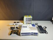 Microsoft Xbox 360 Star Wars R2d2 Bundle W/ Controller 13 Games And Kinect
