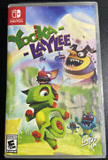 Yooka-laylee Lrg Cover Variant Nintendo Switch Limited Run Games Best Buy