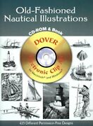 Old-fashioned Nautical Illustrations Cd-rom And Book By Dover Publications Inc