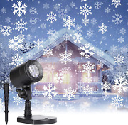 Christmas Projector Lights Outdoor Led Snowflake Projector Lights Waterproof Pl