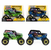 Monster Jam Breaking World Records 124 Grave Digger And Son-uva Digger Target Exc