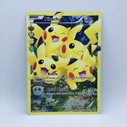 Pikachu Ultra Rare Full Art Generations Radiant Collection Rc29/rc32 - Nm