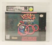 Izzyand039s Quest For The Olympic Rings Super Nintendo Snes Vga Graded 90 Nm+/mt