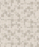89331 - Tiling On A Roll Tile Effect Taupe Holden Wallpaper