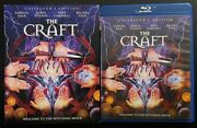 The Craft Collectors Edition Blu Ray + Rare Oop Slipcover Sleeve Shout Factory
