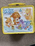 Aladin Care Bear Cousins Metal Lunch Box And Thermos 1985