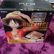 Sony Ps3 One Piece Pirate Warriors Gold Console Limited Edition Used Japan