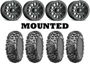 Kit 4 Cst Stag 29x9-15/29x11-15 On Fuel Vector Beadlock Matte Black D920 Can