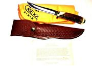 Case Xx Vintage Stag Apache Hunting Knife