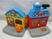Fisher Price Little People Halloween Trick Or Treat Surprise House Only W Sound