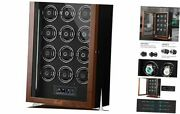 Watch Winder For 4/6/12 Automatic Watch With C-watch Winders For 12 Watches