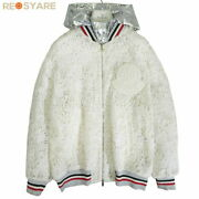 Pole Moncler Gam Rouge 2017ss Lauren Big Patches Race Embroidery Zip Up Bomber